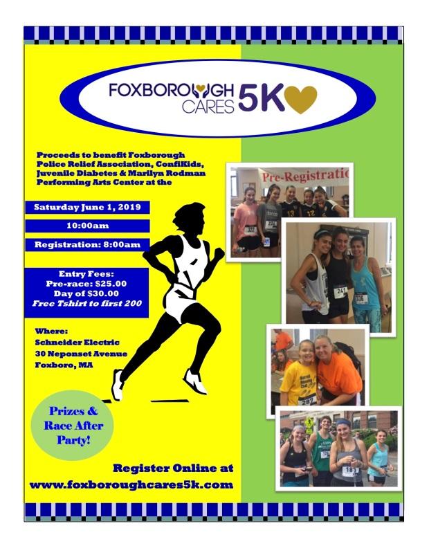 2019 FoxboroughCares5K Flyer